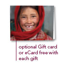 Gift Card free with each Gift